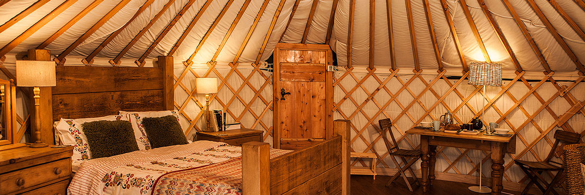 Uppergate Farm Yurt